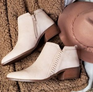 Shoes - 🆕️//The Tawny// blush cutout ankle bootie
